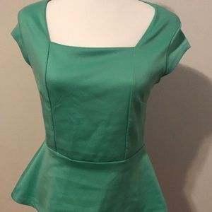 Limited peplum top